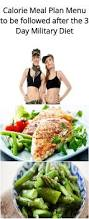 1500 calorie meal plan menu to be followed after the 3 day