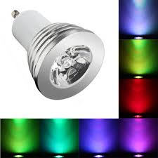 Rgb Led Light Bulb With Remote by Remote Control Colour Changing Rgb Led Light Bulb Dimmable 4x