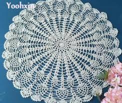 napperon de cuisine chaude diy dentelle coton place tapis de table pad tissu crochet