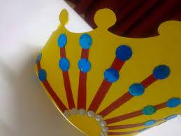 mother u0027s day crafts crown greeting u2022 art platter