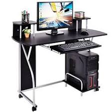 Furinno 12095bk Br Econ Multipurpose Home Office Computer Writing
