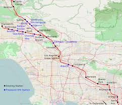 Los Angeles Rail Map by How Los Angeles Can Maximize The Value Of The Union Station Run
