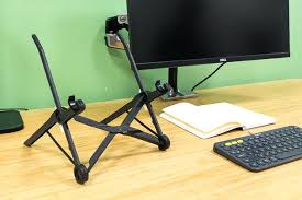 Adjustable Laptop Stand For Desk Adjustable Laptop Stand For Desk The Roost Set Up Without A On