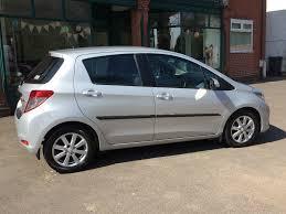 toyota yaris 1 4 d 4d silver 2013 plate satnav fully loaded car