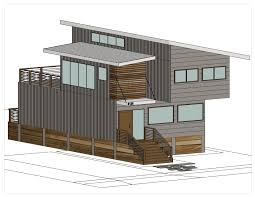 prefab container homes breezehouse healdsburg by blu homes wall