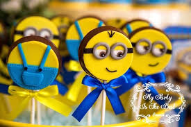 minions birthday party ideas kara s party ideas minion lollipops from a minions birthday party
