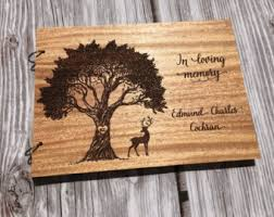 guest sign in book for funeral guest book etsy
