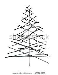christmas tree drawing stock images royalty free images u0026 vectors