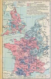 Nantes France Map by Map Of England And France Recana Masana
