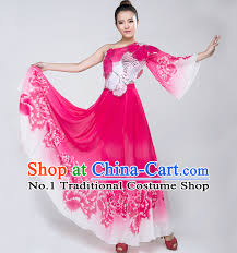 Chinese Costume Halloween Chinese Lyrical Dance Costumes Girls Dancewear Dance Costume