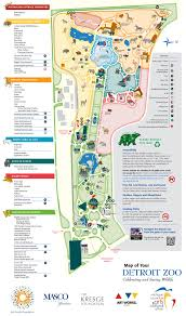 Worlds End State Park Map by Detroit Zoo Park Map U2026 Pinteres U2026