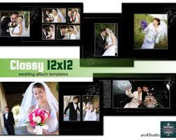 wedding albums for photographers album templates etsy