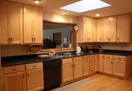 kitchen with light cabinets natural maple kitchen cabinets