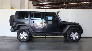 black jeep wrangler unlimited soft top 2008 jeep wrangler unlimited jk my08 sport 4x4 black 5 speed
