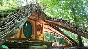 Hobbit Homes For Sale by Hobbit House With Amazing Green Roof