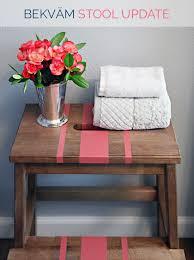 ikea step stool rroom me iheart organizing ikea bekväm stool update