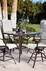 Patio High Dining Set High Patio Dining Set Table End Furniture Sets Outdoor Chairs