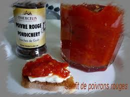 cuisiner le poivron confit de poivrons rouges au thermomix ou pas la cuisine