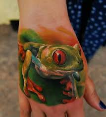 hd eyed tree frog tattoos free live 3d hd pictures