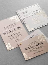 printed wedding invitations foil printed wedding invitations 7462