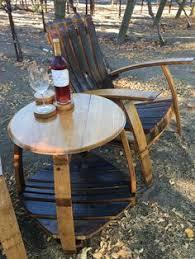 Napa Bistro Table Barrelhead Bistro Set Wine Barrel Furniture Napa Valley Bar