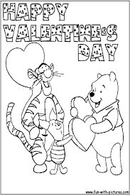 winnie the pooh valentines day winnie the pooh coloring pages s day 2015