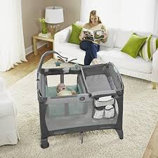 baby portable playpen crib bassinet play yard infant toddler