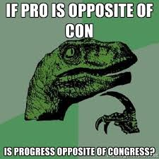 Congress Meme - progress congress philosoraptor know your meme