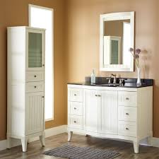 white vanity bathroom ideas white wooden bath vanity with combo sink and white wooden frame