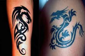tribal dragon tattoos designs pictures u0026 ideas tattoo me now
