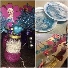 Easy Centerpieces 104 Best Frozen Party Decor Images On Pinterest Parties Frozen