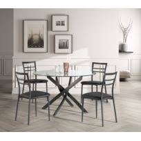table ronde et chaises table ronde 4 chaises achat table ronde 4 chaises pas cher rue
