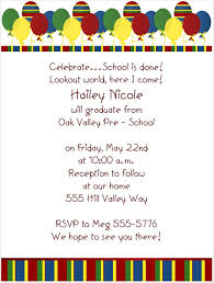 preschool graduation invitations graduation invitations