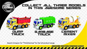 go lights for trucks friction powered dump truck toy with lights sound push and go