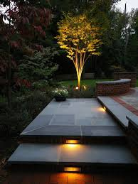 outdoor step lighting ideas for a romantic look of your yard
