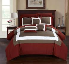 amazon com chic home duke 10 piece comforter set complete bed in