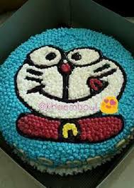 tutorial gambar kepala doraemon 27 resep kue ulang tahun doraemon enak dan sederhana cookpad