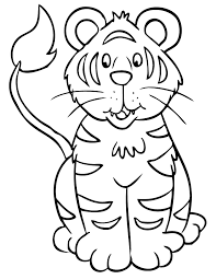 28 Tiger Coloring Pages Wild And Majestic Animals Coloring Pages Tiger
