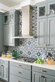 gray kitchen backsplash kitchen backsplash blue subway tile for