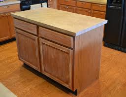 Kitchen Island Makeover Ideas Imposing Kitchen Island Makeover With Partial Overlay Cabinet
