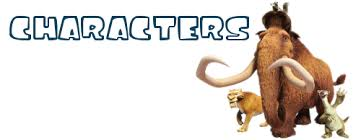 characters ice age