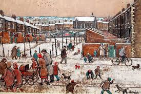 a painting by norman cornish winter sfeer pinterest norman