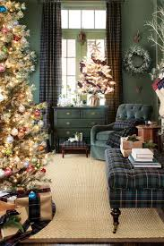 plaid christmas home decor