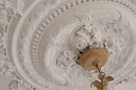Plaster Chandelier by Plaster Ceiling Medallion Kim Smith Designs