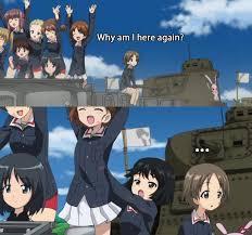 Girls Und Panzer Meme - girls und panzer ガールズ パンツァー
