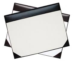 White Leather Desk Blotter Desk Blotter Leather With Regard To Awesome Home Paper Ideas