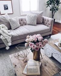 Coffee Table Ideas For Living Room Living Room Decor Ideas Glamorous Chic In Grey And Pink Color
