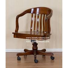 Wood Office Furniture by Wooden Office Chair Indonesian French Furniture Teak Outdoor
