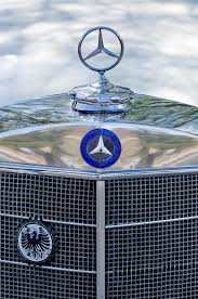 mercedes ornament photograph by reger