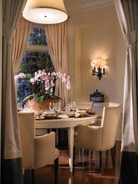 Chandelier Height Above Table by Select The Perfect Dining Room Chandelier Hgtv
